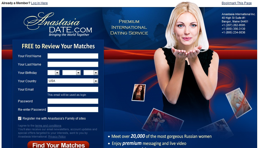 best dating site anastasia date