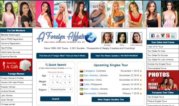 foreign affair dating site