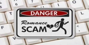 Russian online dating scam
