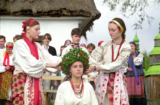 Christmas ukrainian bride day