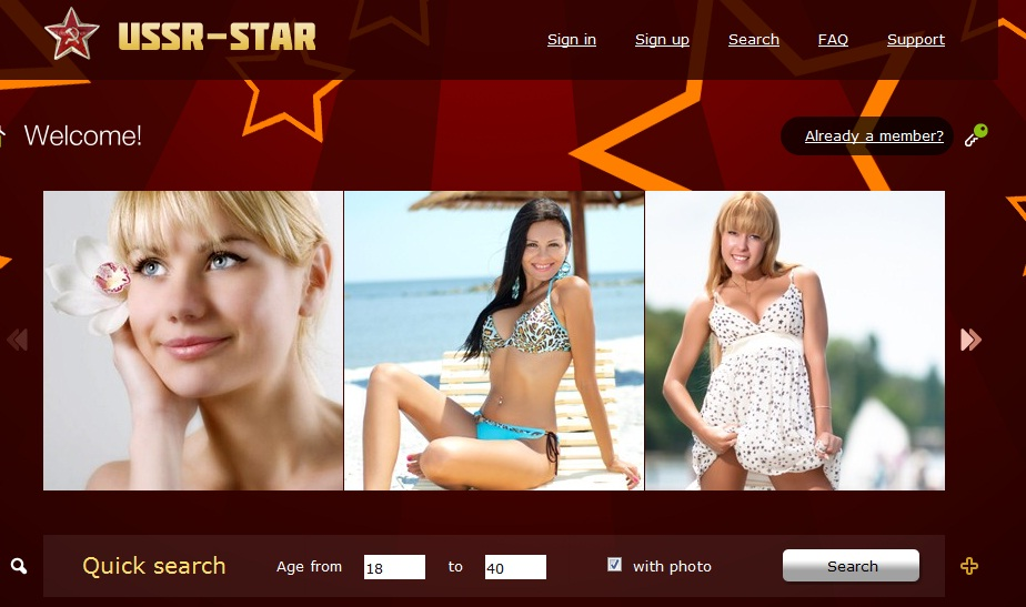 Ussr-star dating site scams
