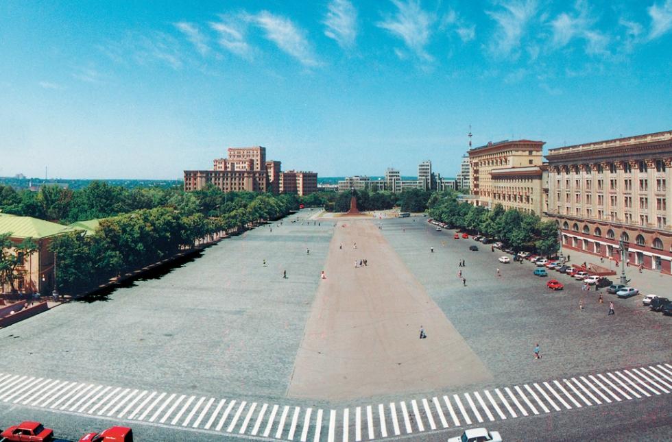 The Freedom Square in Kharkov