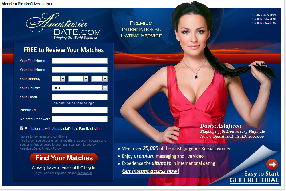 International online dating sites free