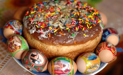 Pysanka eggs