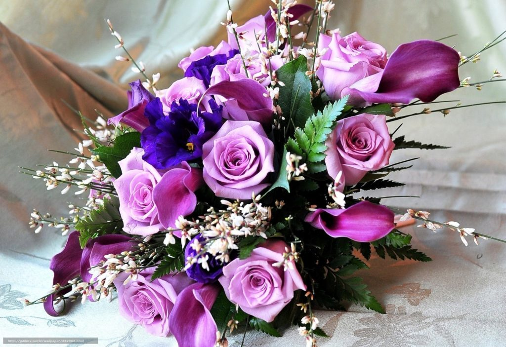 flowers for russian woman
