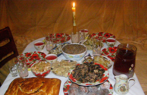 Orthodox Christmas Food
