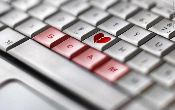 Ukrainian online dating scam