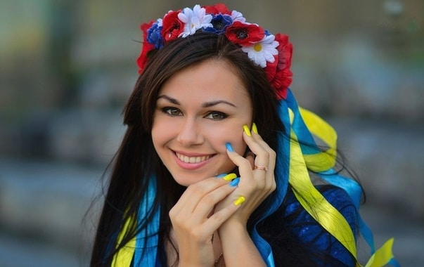 Typical Ukrainian woman