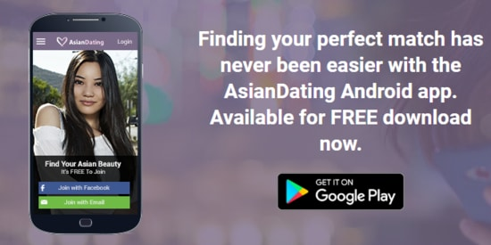 AsianDating mobile app