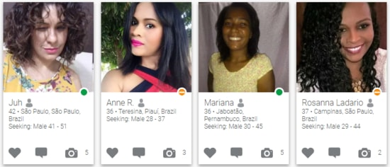 Brazilian Women's Profiles