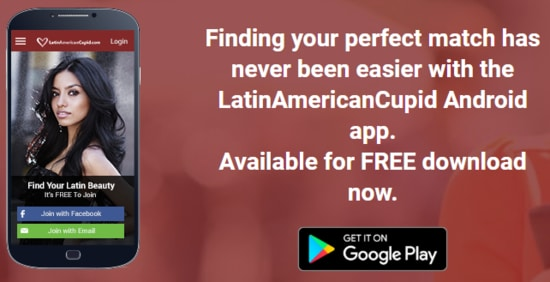 LatinAmericanCupid.com app