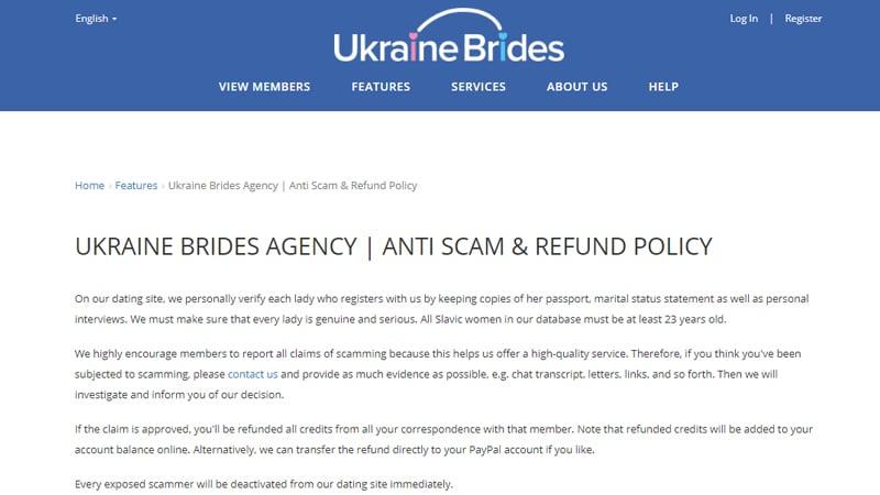ukraine brides anti scam